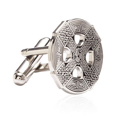 Silver Celtic Cross Cufflinks