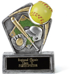 Softball Spin Sport II Award