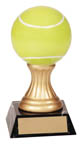 Gold Pedestal Tennis Resin