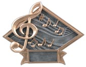 Diamond Music Resin Plate