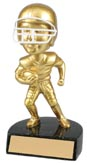 Gold Football Bobble Head