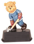 Bear Hockey Figure