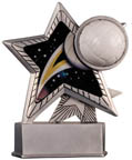 Motion Star Volleyball Resin Award