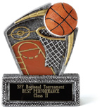 Basketball Spin Sport II Award