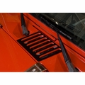Cowl Vent Cover, Black, 07-17 Jeep Wrangler by Rugged Ridge