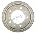 "Brake Drum (Front or Rear), 9"" x 1-3/4"", Fits 1950-1952 M38"