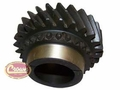 10) 25 Tooth 3rd Gear, 1980-81 Jeep CJ with SR4 4 Speed Transmission