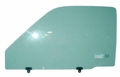 Left Side Door Glass, W/O Vent Glass, 1990-1995 Toyota Truck, Left Side