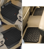 Rugged Ridge - All Terrain Front & Rear Floor Liner Mat Set - Ford Trucks, F150 F250 F350 & SUV