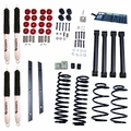 2-Inch Lift Kit with Shocks, 97-02 Jeep Wrangler TJ by ORV Rugged Ridge