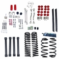 4-Inch Lift Kit without Shocks, 03-06 Jeep Wrangler TJ by ORV Rugged Ridge