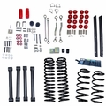 4-Inch Lift Kit without Shocks, 04-06 Jeep Wrangler Unlimited LJ by ORV Rugged Ridge