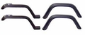 Wrangler Fender Flare Kit (4 Piece Kit) Jeep Wrangler (1987-1995); 4 Piece Kit; Includes Hardware.