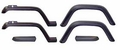 Wrangler Fender Flare Kit (6 Piece Kit) Jeep Wrangler (1987-1995); 6 Piece Kit; Includes Hardware.
