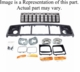 Header Panel Kit, Fits 1996-1998 Grand Cherokee with Chrome Grille