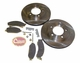 Front Disc Brake Service Kit, 1976-78 Jeep CJ5, CJ6, CJ7 W/ 6-Bolt Caliper Plate