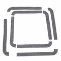 Tool compartment lid seal kit (8 piece set) 1941-1945 MB, GPW