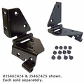 Windshield Hinge Set, Jeep CJ (1976-1986), Factory Style, Right Side.