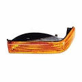Driver Side Turn Signal Lamp, fits 1993-98 Jeep Grand Cherokee ZJ, (Export Models) Amber.