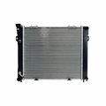 Radiator, Jeep Grand Cherokee (1993-1994) w/ 4.0L engine. Inlet 1-1/4; Outlet 1-1/2 Core Size: 22-1/8 x 19-3/8; 2 Rows