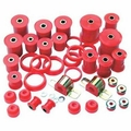 Prothane Total Suspension Kit for Jeep 1984-96 XJ CHEROKEE, RED