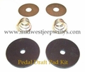 Clutch and Brake Pedal Draft Pad Kit