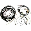 Wiring harness kit, With turn signal wiring horn on fender, JEEP CJ2A 1946-Late 1949