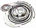 Wiring harness kit, W/small speedometer, JEEP CJ3B, 1952-56
