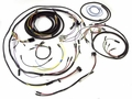 Wiring harness kit, w/large speedometer, JEEP CJ3B, 1957-64