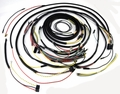 Wiring harness kit, Cloth wiring, JEEP CJ5, 1954-56