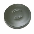 Metal Gas Cap, Olive Drab, fits 1943-45 Willys MB & Ford GPW with Large Mouth Filler