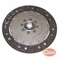 Clutch Disc, 10 Spline, fits 2005-06 Wrangler TJ, with 2.4L Engine