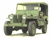 Willys Jeep Body Parts for 1950-52 Jeep M38