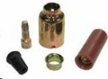14 Gauge Male Metal Shell Connector Kit, (Douglas Connectors)
