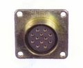 CONNECTOR, FEMALE PINS, RECEPTICAL INTERVEHICULAR SOCKET TYPE - MS75021-2