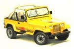 Jeep Body Parts for 1987-95 Jeep Wrangler YJ