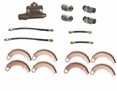 Drum Brake Rebuild Kit, Fits 1941-48 MB, GPW and CJ2A up to serial number 215649