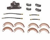 Drum Brake Rebuild Kit, Fits 1948-53 CJ2A, CJ3A, M38 after serial number 215649