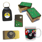 Billiard Novelty Items