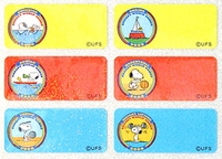 Snoopy Regular Size Lables