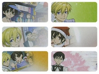 Ouran High School Host Club Regular Size Labels