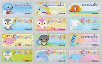 Sea Paradise Mini Labels