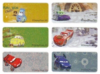 Disney Cars Regular Size Labels