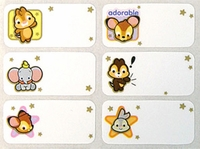 Disney Cuties Characters Labels