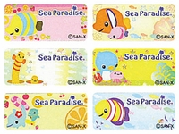 Sea Paradise Regular Size Labels