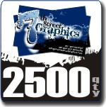 2500 Count Full Color Business Cards