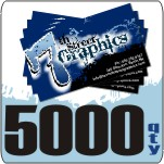 5000 Count Full Color Business Cards