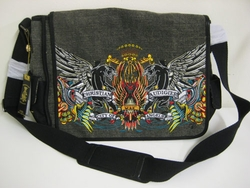 Christian Augidier Panther messenger Laptop Bag $250