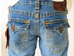 True Religion Men BILLY SUPER T Jeans MED PRANKS