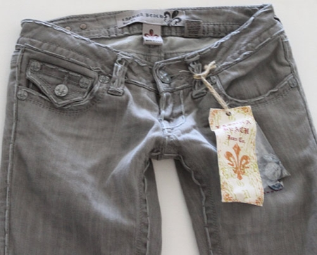 Women Laguna Beach Jeans Aliso Beach in Grey Size 25
